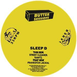 """Sleep D/THE JACKEL EP 12"""""""