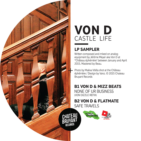 "Von D/CASTLE LIFE LP SAMPLER 12"""