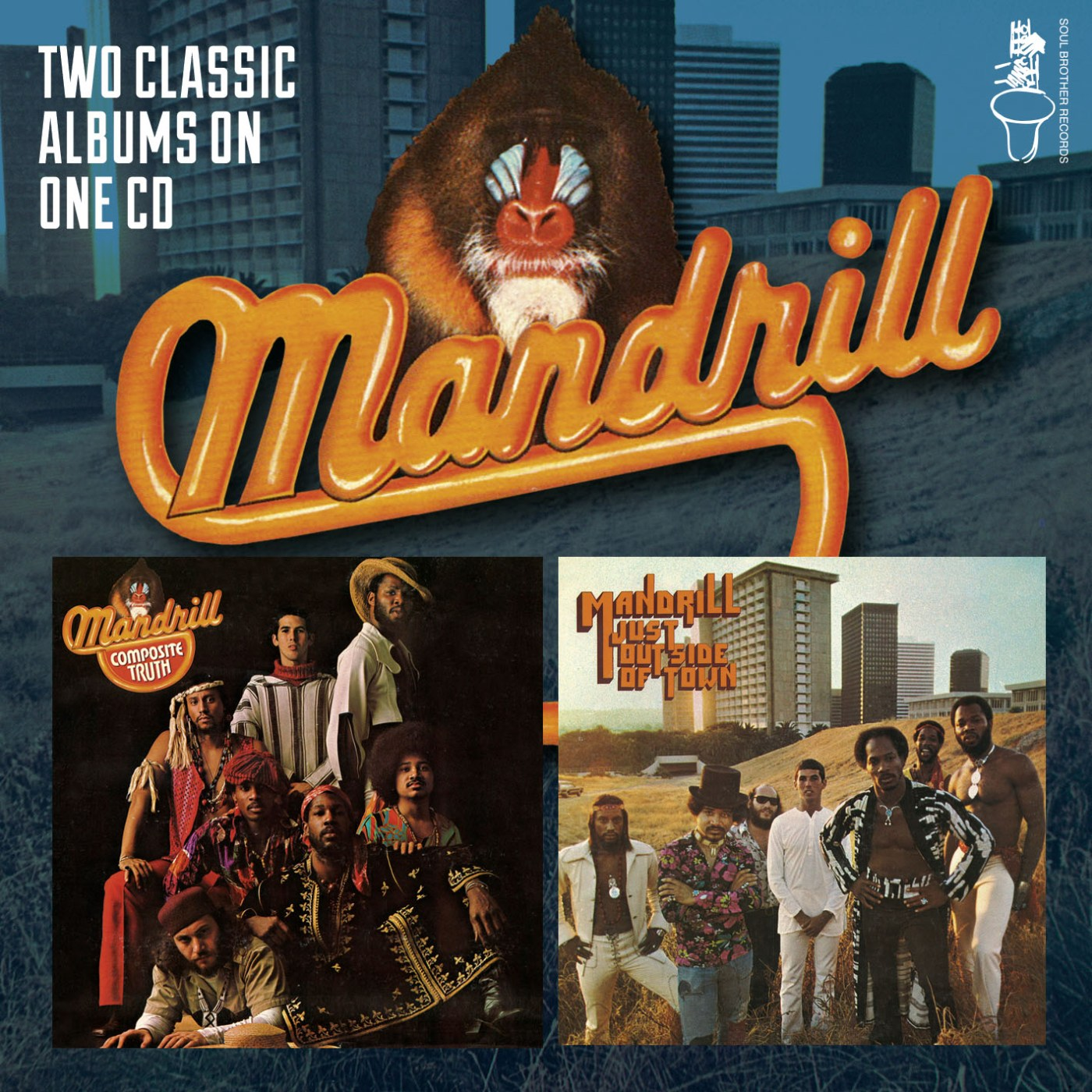 Mandrill/COMPOSITE TRUTH & JUST OUT CD