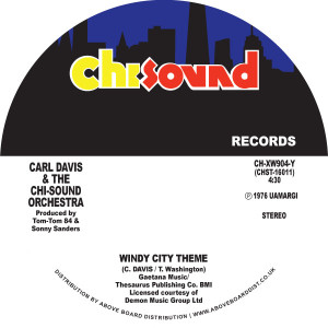 Carl Davis/WINDY CITY THEME 7""