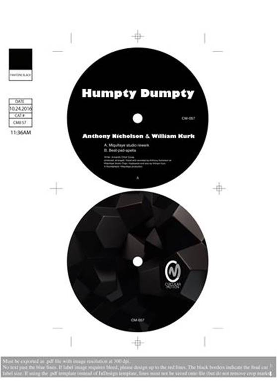 "Anthony Nicholson/HUMPTY DUMPTY 12"""