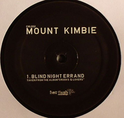 Mount Kimbie/BLIND NIGHT ERRAND 12""