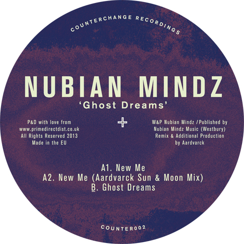 Nubian Mindz/GHOST DREAMS 12""