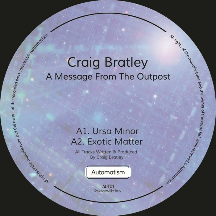 """Craig Bratley/A MESSAGE FROM... EP 12"""""""