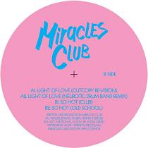 """Miracles Club/LIGHT OF LOVE REMIX 12"""""""