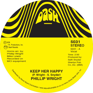 """Phillip Wright/KEEP HER HAPPY 7"""""""