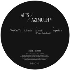 "Alis/AZIMUTH EP  12"""
