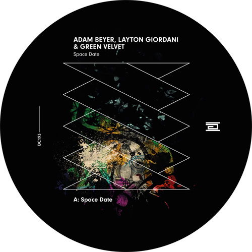 """Adam Beyer & Green Velvet/SPACE DATE 12"""""""