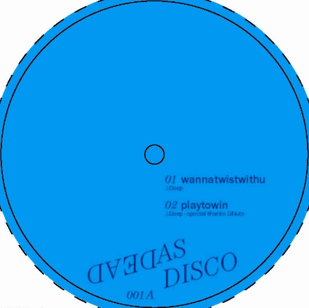 """JDeep & DCastillo/DEAD AS DISCO EP#1 12"""""""