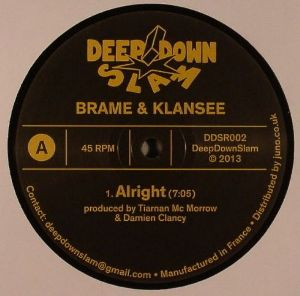 """Brame & Klansee/ALRIGHT EP 12"""""""