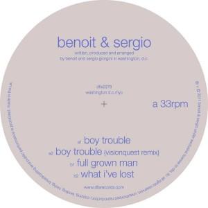 "Benoit & Sergio/BOY TROUBLE 12"""