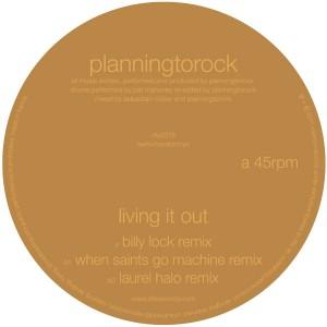 "Planningtorock/LIVING IT OUT 12"""