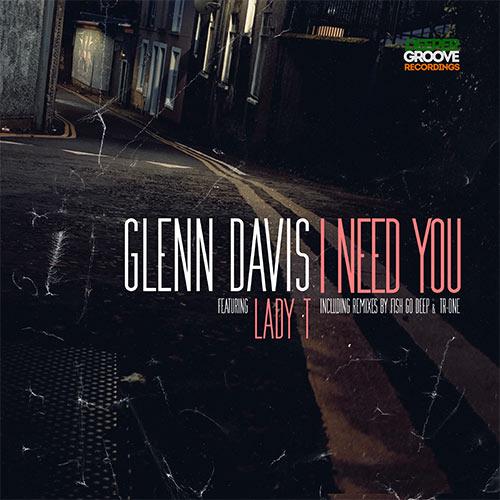 "Glenn Davis/I NEED YOU 12"""