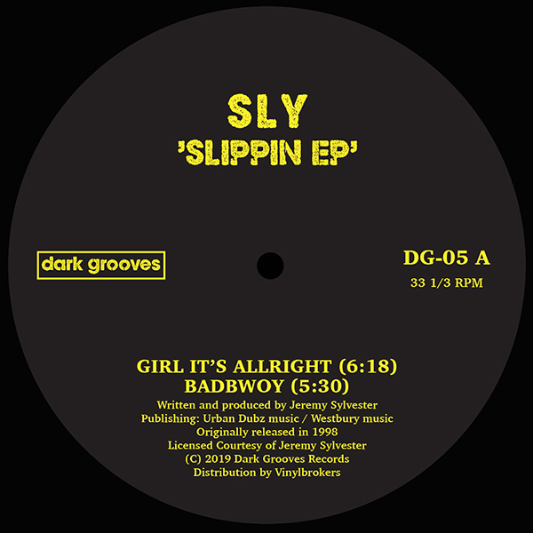 Sly/SLIPPIN EP 12""