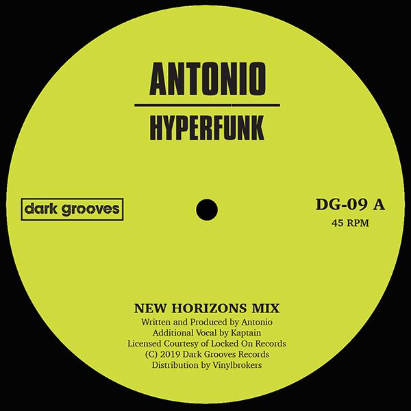 "Antonio/HYPERFUNK 12"""