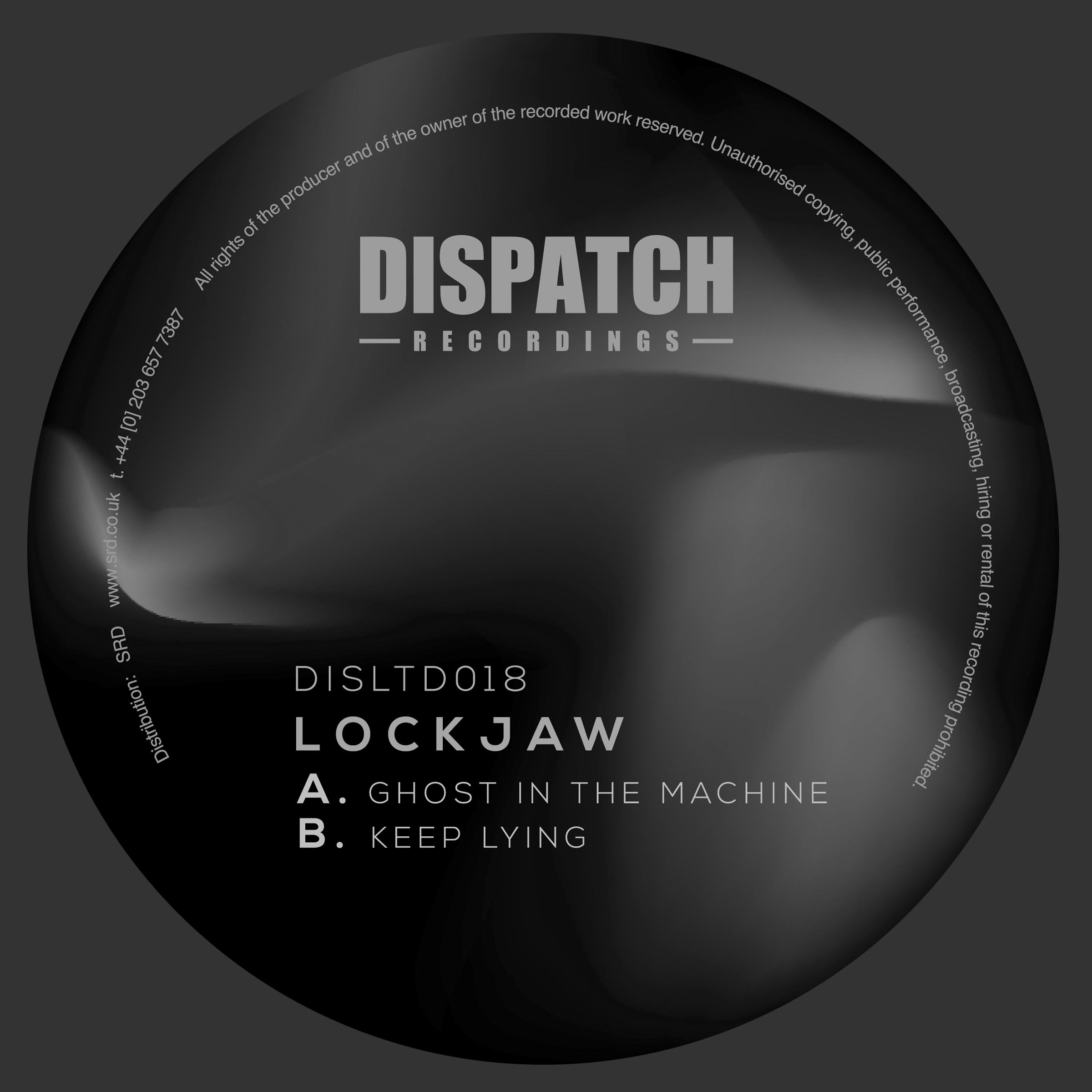Lockjaw/GHOST IN THE MACHINE 10""