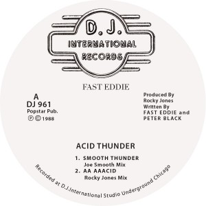 """Fast Eddie/ACID THUNDER 12"""""""
