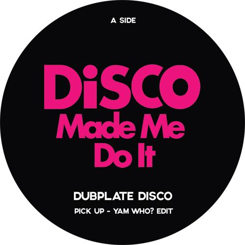 "Various/DISCO MADE ME DO IT SMPLR 1 12"""