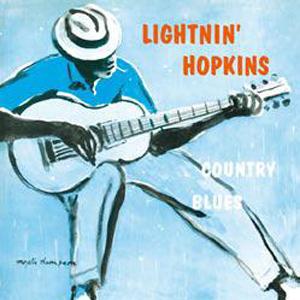Lightnin' Hopkins/COUNTRY BLUES LP