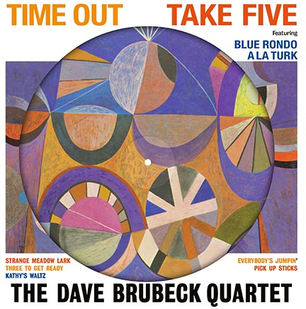 Dave Brubeck Quartet/TIME OUT PIC LP