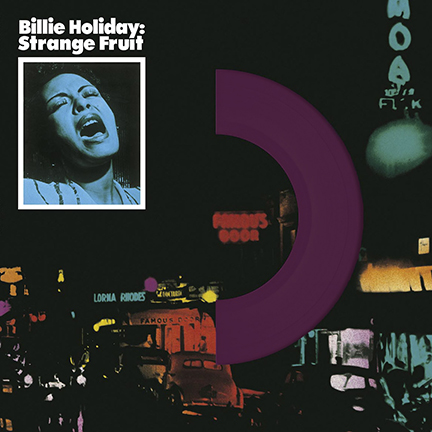 Billie Holiday/STRANGE FRUIT (VIOLET) LP