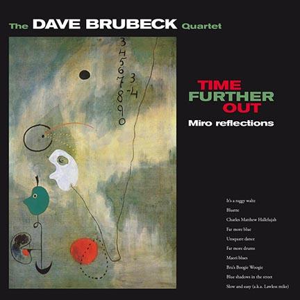 Dave Brubeck/TIME FURTHER OUT (180g) LP