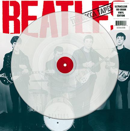 Beatles/DECCA TAPES (CLEAR VINYL) LP