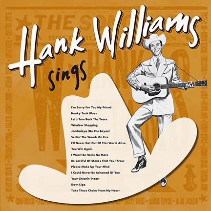 Hank Williams/SINGS (180g) LP