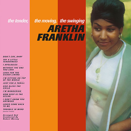 Aretha Franklin/THE TENDER THE MOVING LP