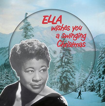 Ella Fitzgerald/WISHES YOU.. PIC DISC LP