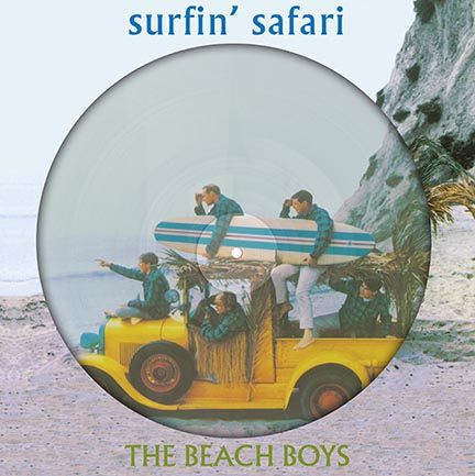 Beach Boys/SURFIN SAFARI & CANDIX PIC LP