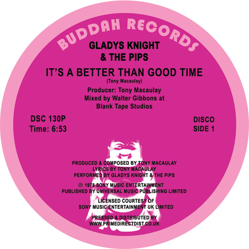 Gladys Knight/IT'S A BETTER THAN... 12""