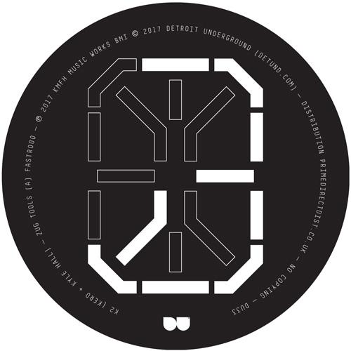 "K2 (aka Kero & Kyle Hall)/ZUG TOOLS 12"""