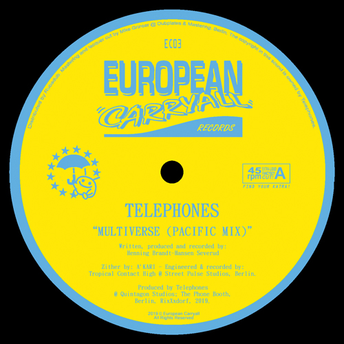 """Telephones/MULTIVERSE (PACIFIC MIX) 12"""""""