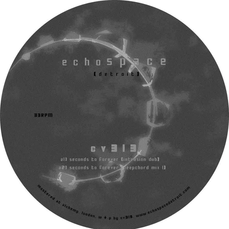 """CV313/SECONDS TO FOREVER (RESHAPES) 12"""""""