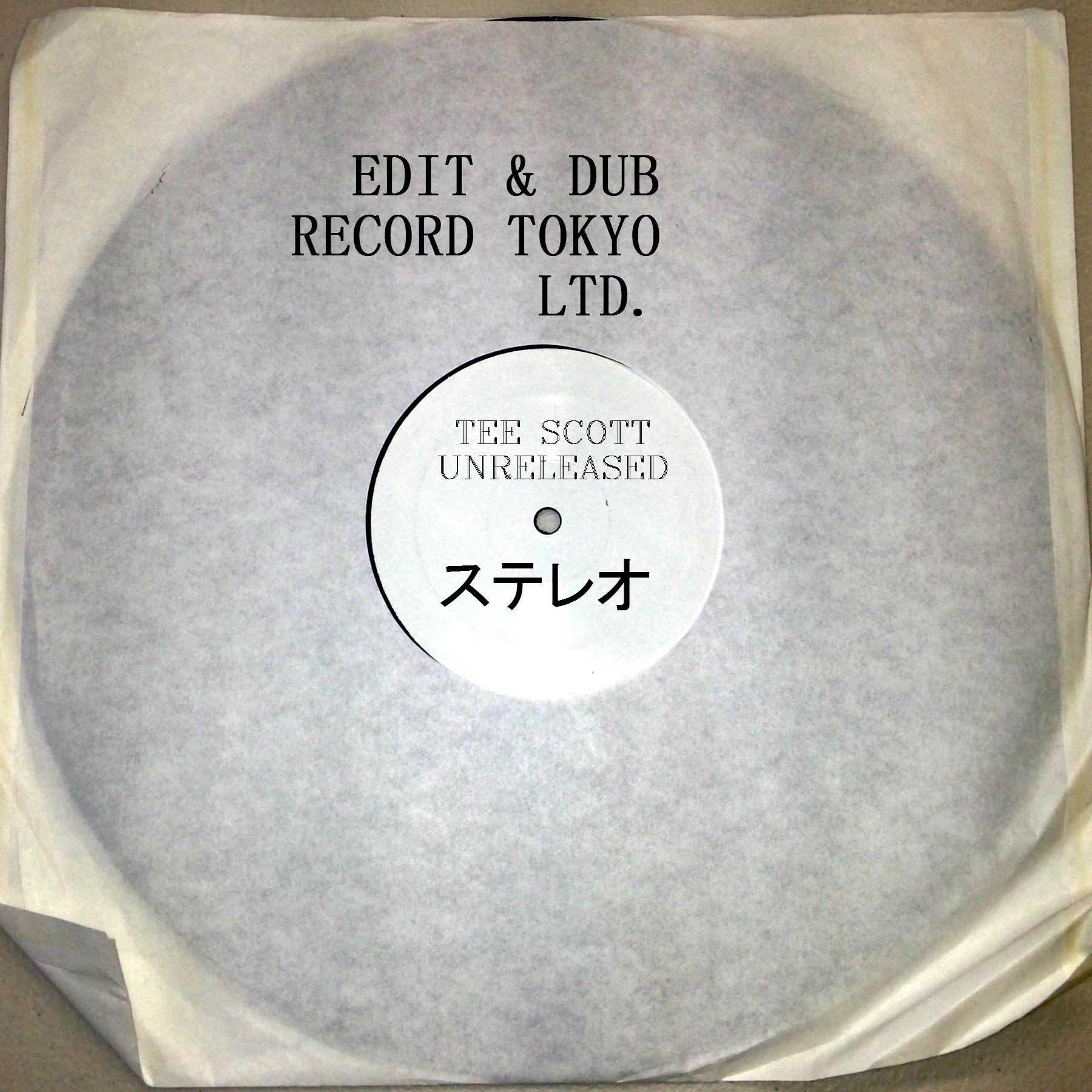 """Edit & Dub/#1 TEE SCOTT (1-SIDED) 12"""""""