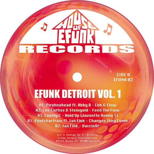 "Various/EFUNK DETROIT VOL. 1 12"""