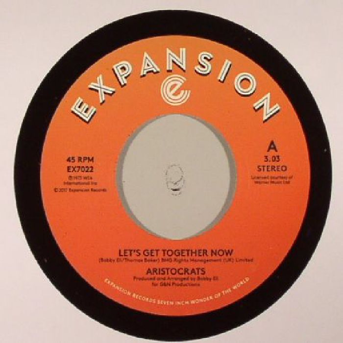"""Aristocrats/LET'S GET TOGETHER NOW 7"""""""