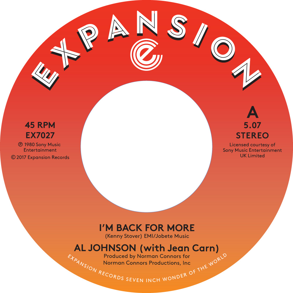 Al Johnson/I'M BACK FOR MORE 7""