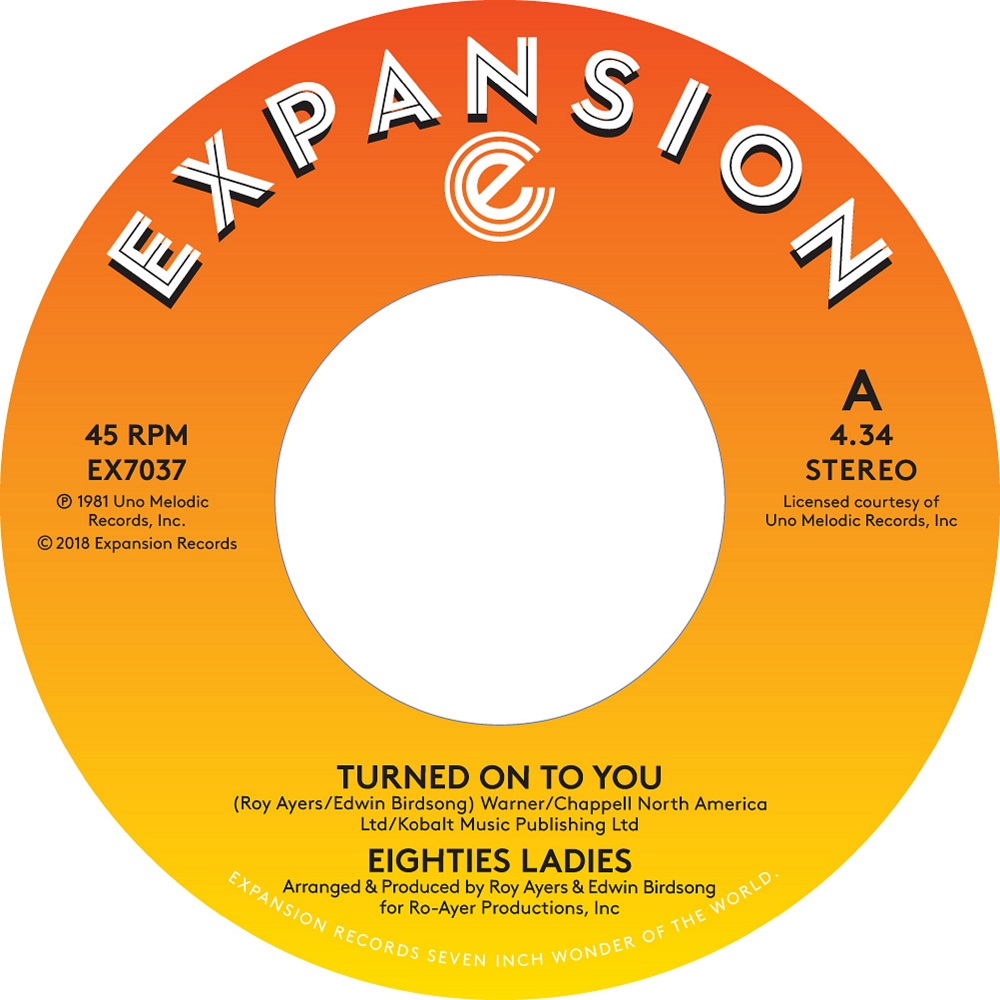 Eighties Ladies/TURNED ON TO YOU 7""
