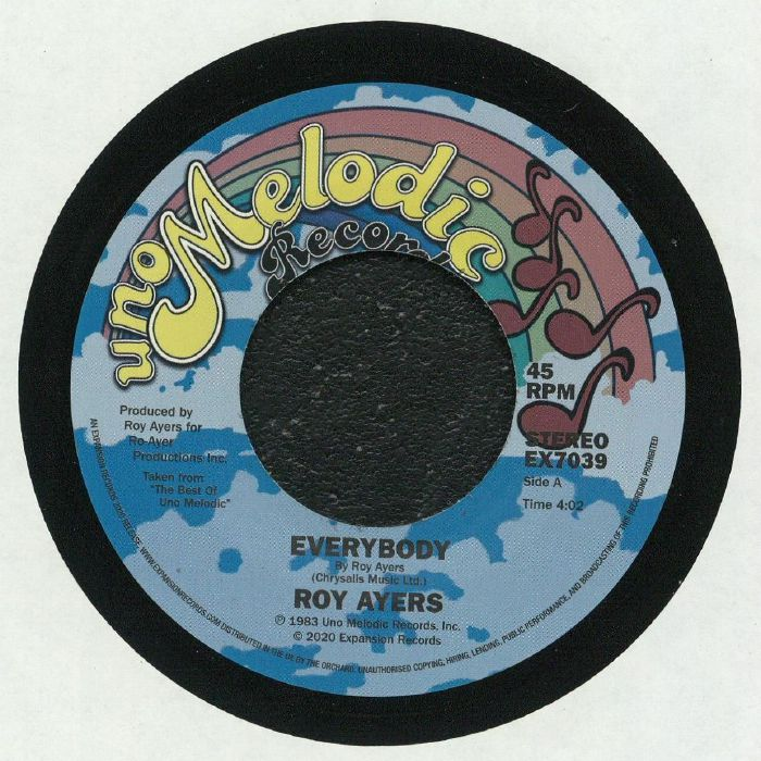 Roy Ayers/EVERYBODY & THEN WE WERE 7""