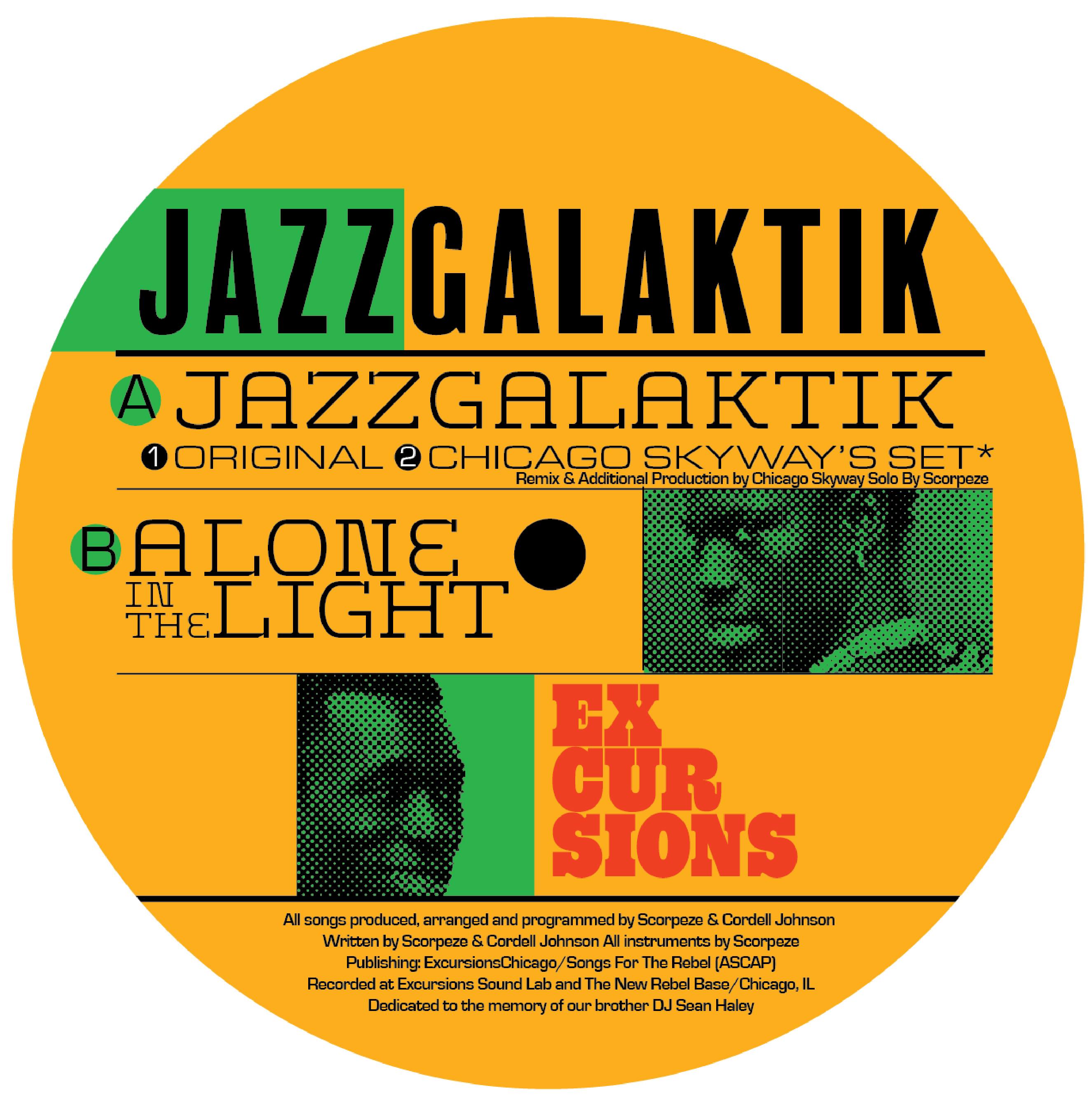 "C Johnson & Scorpeze/JAZZGALAKTIK 12"""