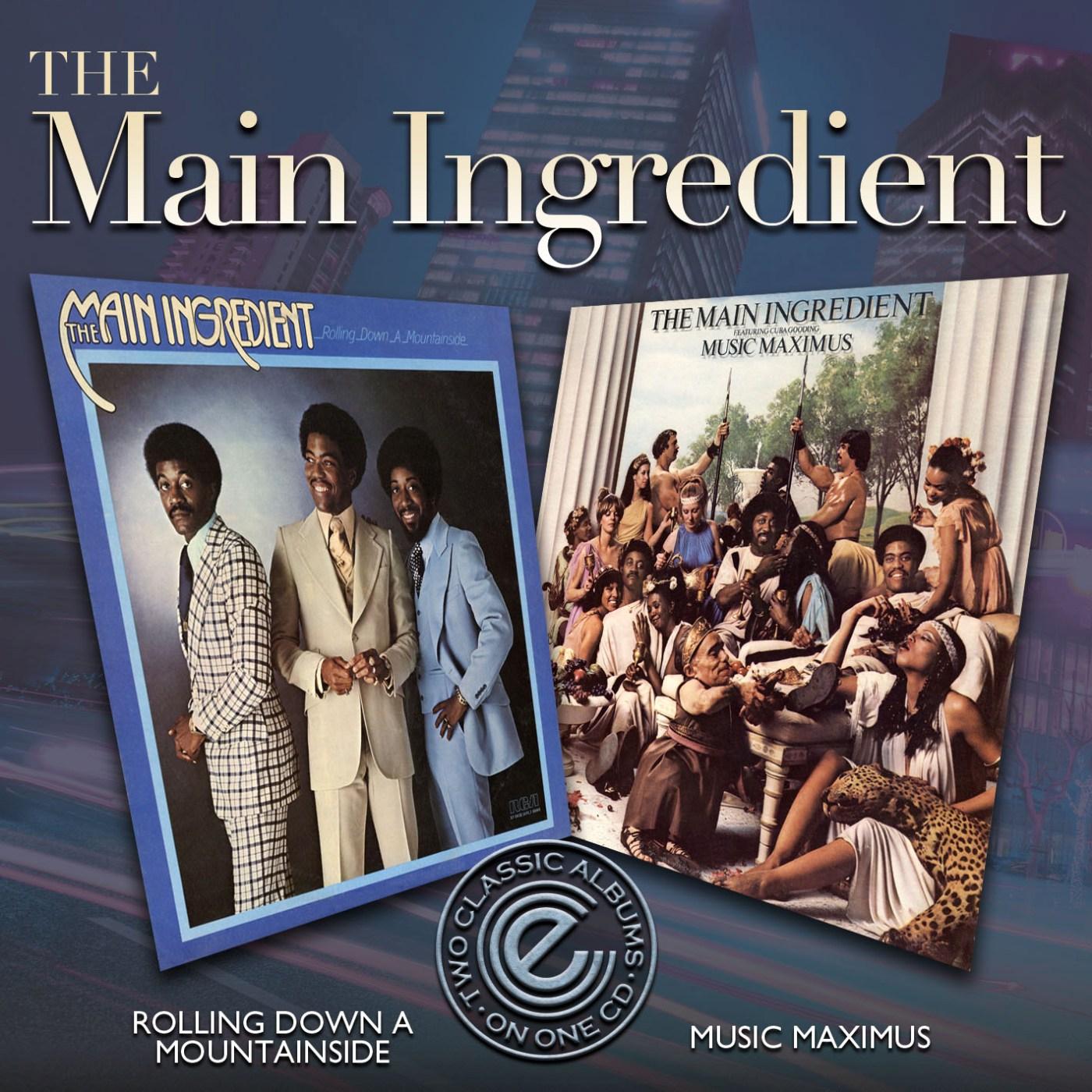 Main Ingredient/ROLLING & MUSIC MAX  CD