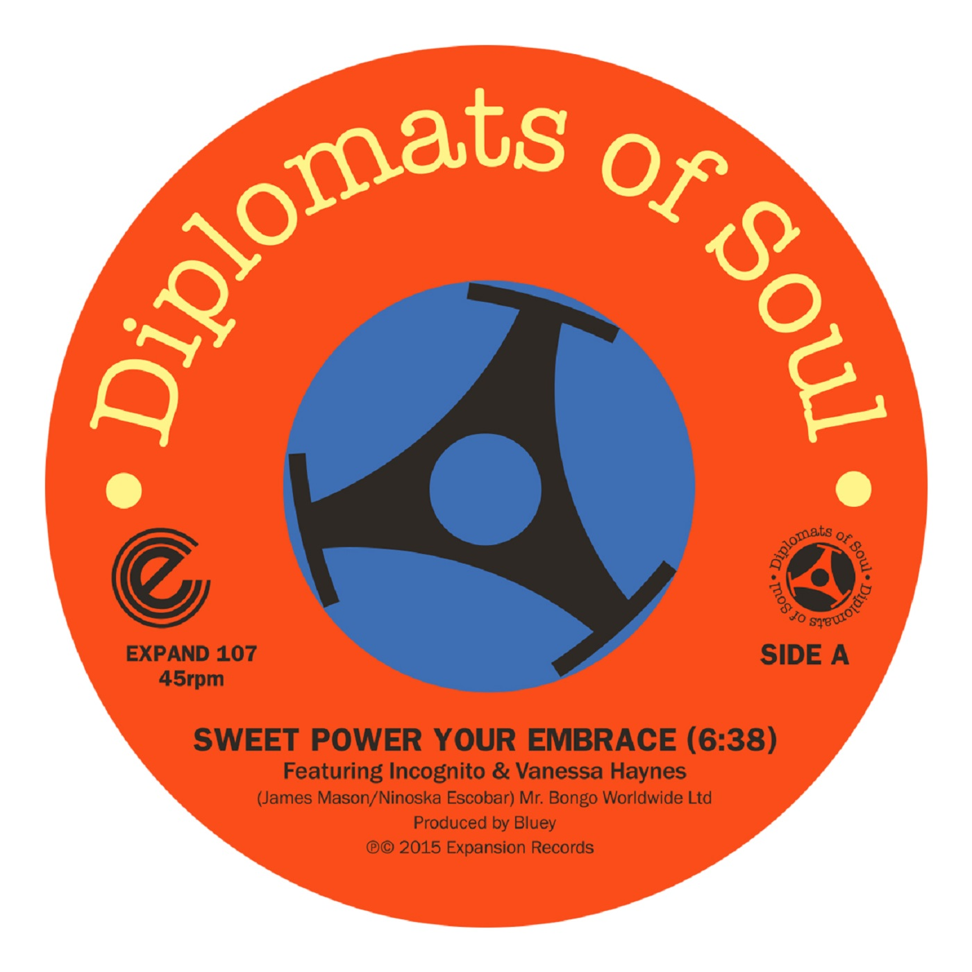 Incognito & Diplomats of Soul/SWEET 12""