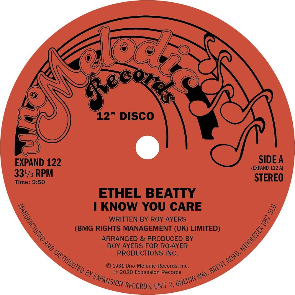 """Ethel Beatty/I KNOW YOU CARE 12"""""""