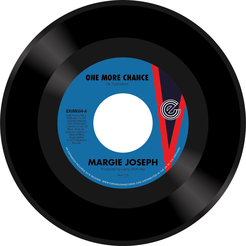 "Margie Joseph/ONE MORE CHANCE 7"""