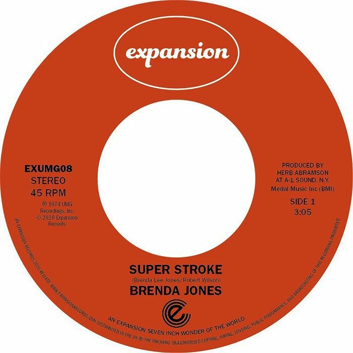 Brenda Jones/SUPER STROKE BIG MISTAKE 7""