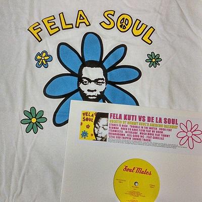 Fela Soul/FELA KUTI VS DE LA LP+SHIRT