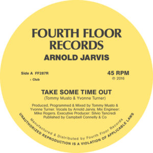 """Arnold Jarvis/TAKE SOME TIME OUT 12"""""""