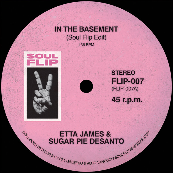 """Etta James/IN THE BASEMENT SOUL FLIP 7"""""""